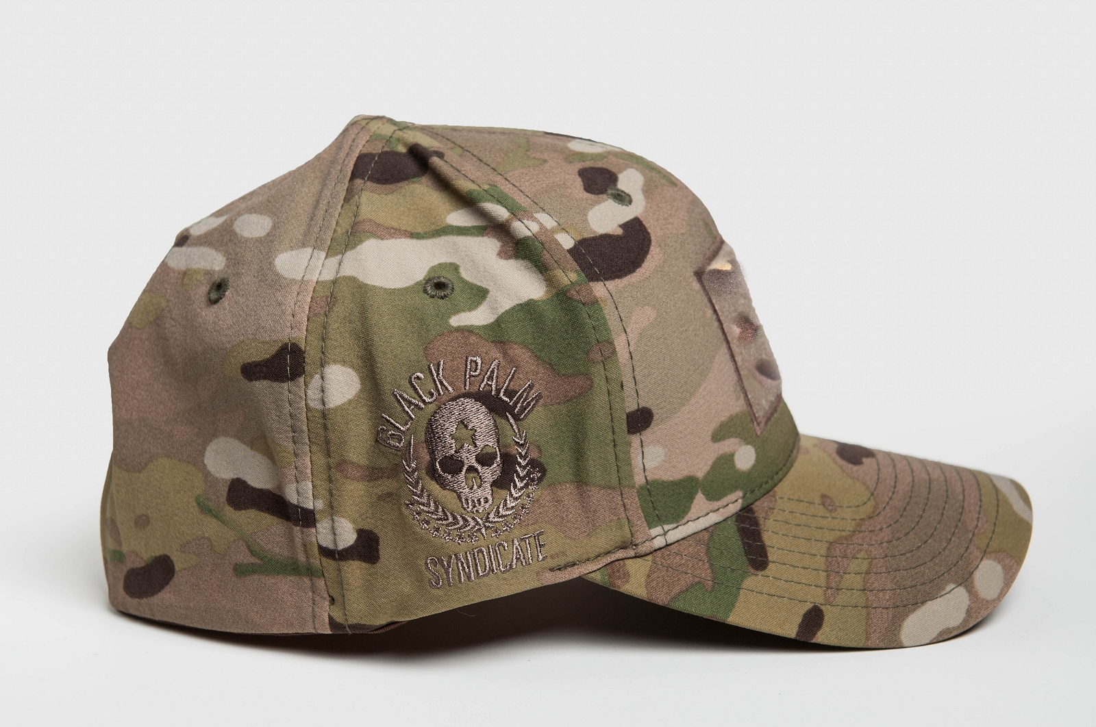 7453ccdc35a Black Palm Syndicate - One Cap To Rule Them All™ Soft Shell MultiCam Hat