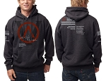 DSF Beef & Beer 2017 Foundations Hoody (Charcoal Heather)