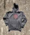 DSF logo Hoody (Charcoal Heather)